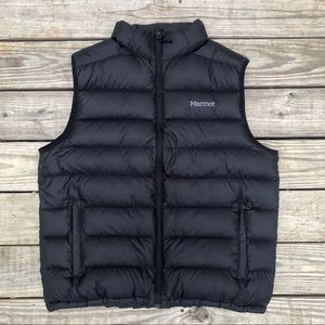 Marmot Vest -Size XXL / 2XL - Black, 800 Down Fill